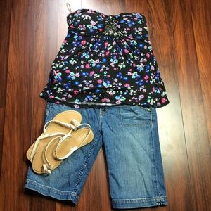 Tops - Candies Strapless Blouse G1